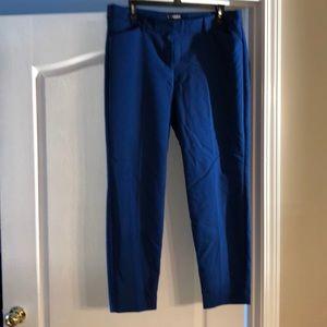 Express Royal Blue Editor Pants
